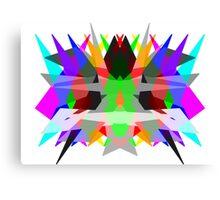 Colour Matrix Canvas Print