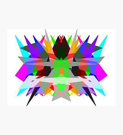 Colour Matrix Photographic Print