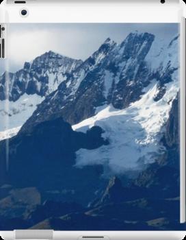 Blue Cold Glacier by phil decocco