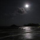 Full Moon over Choeng Mon Beach by DAdeSimone