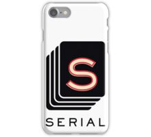 SERIAL iPhone Case/Skin