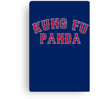 Kung Fu Panda is on the Red Sox! - Pablo Sandoval Canvas Print