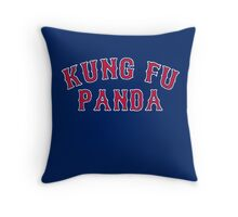 Kung Fu Panda is on the Red Sox! - Pablo Sandoval Throw Pillow