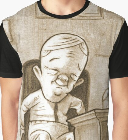 Percy Gloom's first day at work. Graphic T-Shirt