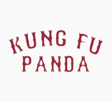 Kung Fu Panda is on the Red Sox! - Pablo Sandoval Kids Clothes