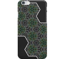 Hexagon Chameleon Geometric iPhone Case/Skin