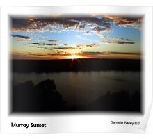 Murray Sunset Poster