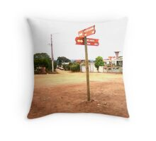 QUO VADIS? Throw Pillow
