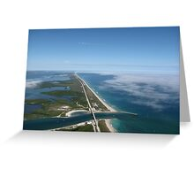 Sebastian Inlet (3) Greeting Card