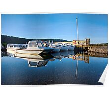 Coniston Reflections Poster