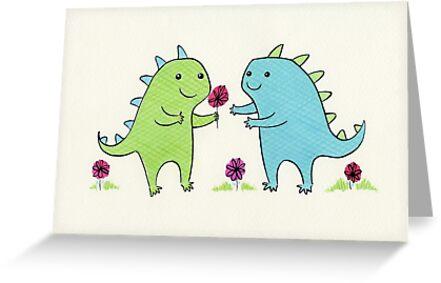 Dino Love by Zoe Lathey