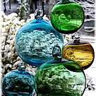 Glass Globes: View of the World by silverdew