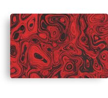 Blood Red Fire Stone II  Canvas Print