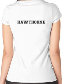 The Hunger Games Baseball Tee - Gale Hawthorne Women's Fitted Scoop T-Shirt