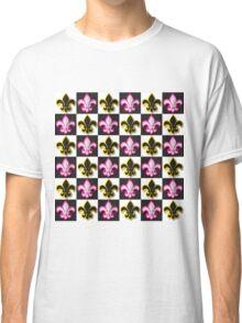 Fleur de lis pattern Classic T-Shirt