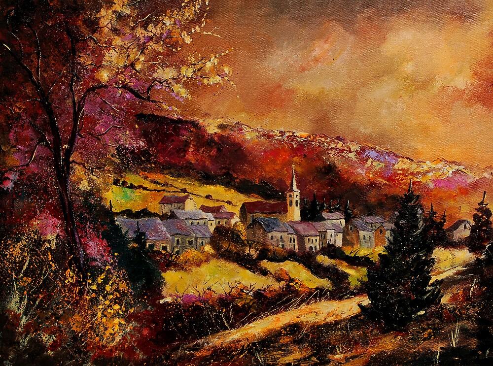 Vencimont village belgium by calimero