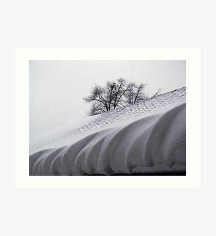 Winter Icing Art Print