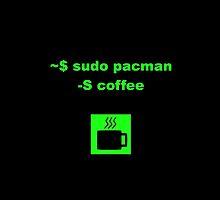 Linux sudo pacman -S coffee by boscorat