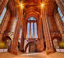 Liverpool Cathedral by Gary Kenyon