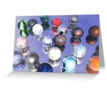 Marbles Anyone? Greeting Card