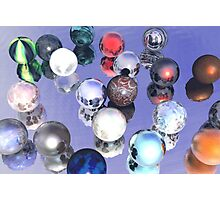 Marbles Anyone? Photographic Print