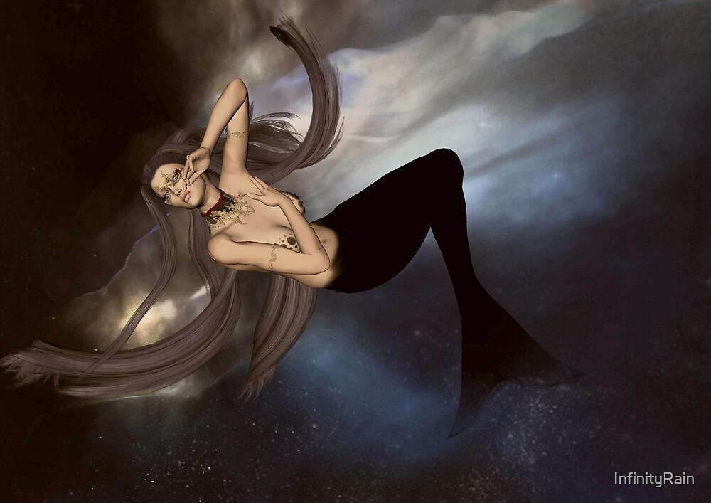 Space Mermaid by InfinityRain