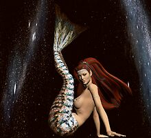 Space Mermaid 3 by InfinityRain