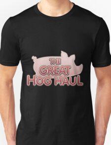Glitch Overlay The Great Hog Haul logo T-Shirt
