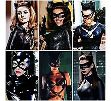 The Many Lives of Catwoman Photographic Print