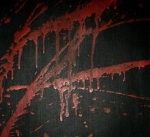 Red Splashes Of Darkness by sekiboy