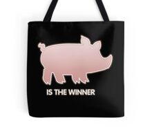 Glitch Overlay The Great Hog Haul Winner Tote Bag