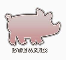 Glitch Overlay The Great Hog Haul Winner One Piece - Short Sleeve