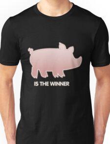 Glitch Overlay The Great Hog Haul Winner Unisex T-Shirt