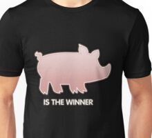 Glitch Overlay The Great Hog Haul Winner Unisex T-Shirt