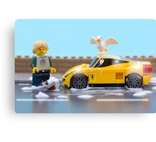 Lego car wash Canvas Print