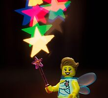 Lego Fairy by Kevin  Poulton - aka 'Sad Old Biker'