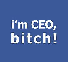 I'm CEO, Bitch! by jackallum