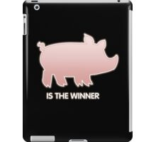 Glitch Overlay The Great Hog Haul Winner iPad Case/Skin