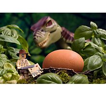 Lego T-Rex egg Photographic Print