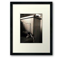 A play on Light  Framed Print