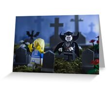 Lego Vampire  Greeting Card