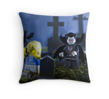 Lego Vampire  Throw Pillow