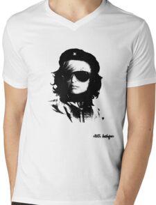 Ernesto goes to Paris Mens V-Neck T-Shirt