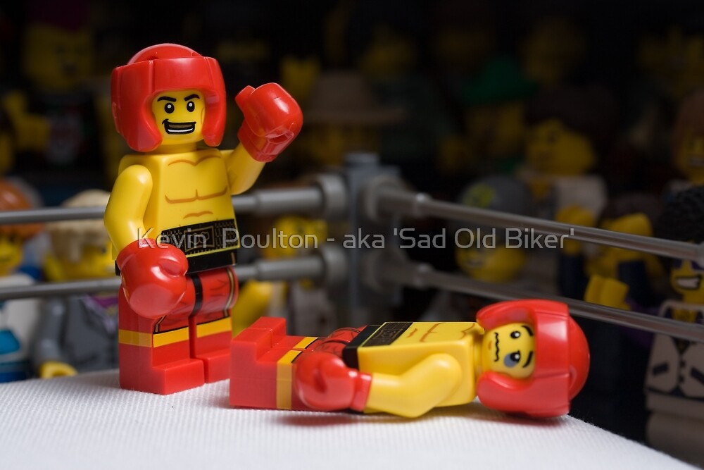 Knock-out by Kevin  Poulton - aka 'Sad Old Biker'