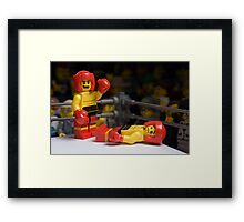 Knock-out Framed Print