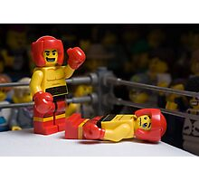 Knock-out Photographic Print
