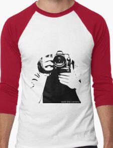 Work the camera Men's Baseball ¾ T-Shirt