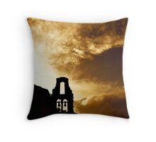 Corfu Skyline Throw Pillow