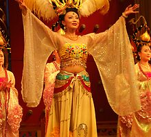 Traditional Chinese Dancer by georgieporgie