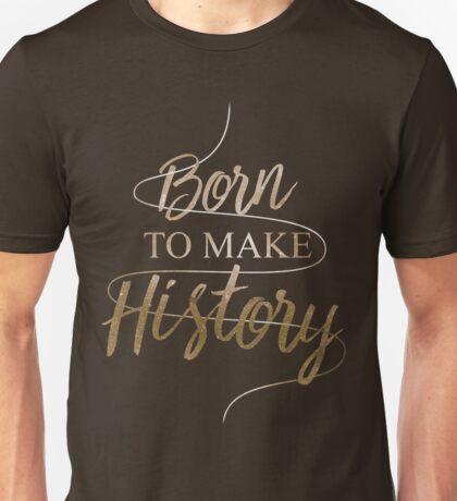 yurionice born to make history Unisex T-Shirt